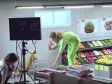Les chats font leurs courses au supermarché : making-of