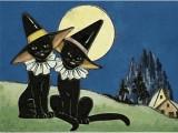 Joyeux Halloween à tous les chats noirs!