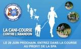 COUREZ POUR LES ANIMAUX À LA CANI-COURSE LE 29 JUIN 2014 !