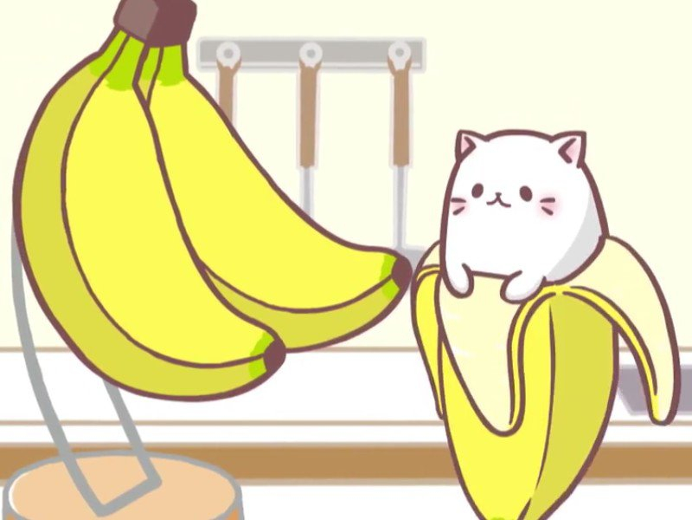 bananya un dessin anim japonais avec de dr les de chats. Black Bedroom Furniture Sets. Home Design Ideas