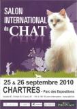 CHARTRES (Eure & Loir)  15ème Salon International du Chat