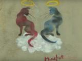 Missekat, une street-artiste amoureuse des chats