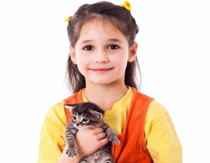 Adopter un chat quand il y a un enfant à la maison