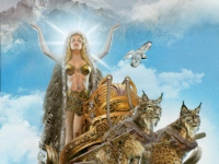 La déesse Freyja